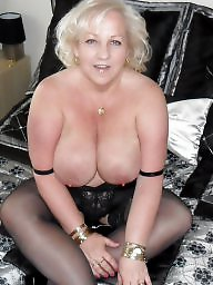 Bbw blonde, Bbw stockings, Stockings