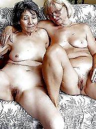 Hairy granny, Big pussy, Granny, Granny tits