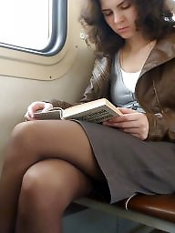 Upskirt, Pantyhose, Stockings