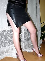 Latex, Amateur latex, Skirt, Rubber, Teen latex, Shiny