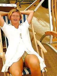 Amateur mature, Flashing, Flash