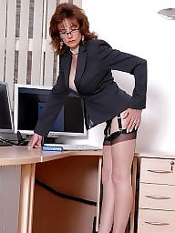 Lady sonia, Lady, Secretary, Mature stockings, Stockings, Sonia