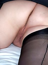 Mature stockings, Mature nylon