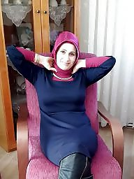 Turkish, Hijab, Arab, Turbanli, Turban, Mature stockings