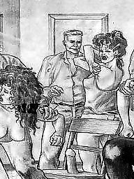 Sex cartoon, Cartoon lesbian, Cartoon, Art, Lesbian, Lesbian cartoons
