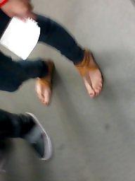 Feet, Hidden cam, Hidden