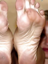 Sexy mature soles