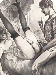 Vintage, Erotic, Art