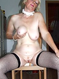 Mature stockings, Niece, Mature stocking