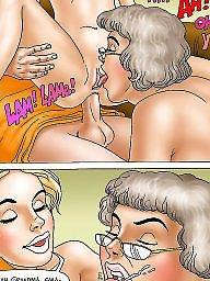 Mature cartoon, Old cartoon, Old young cartoon, Mature cartoons, Mature young, Grandma
