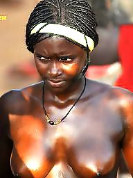 Ebony amateur, Ebony, Black, African, Public, Public nudity