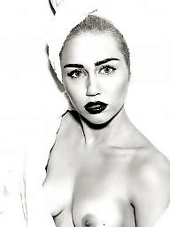 Topless celebrity, Topless celebrities, Topless, Nipples flash, Nipple flash, Mileys