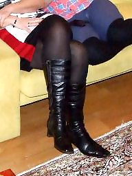 Strumpfhose, Pantyhose, Aunt, Voyeur, Stockings, Pantyhose amateur