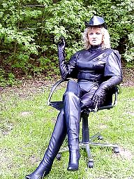 Mature leather, Pvc, Mature pvc, Leather milf, Mature latex, Latex