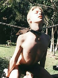 Outdoor, Outdoors, Male slave, Slave, Outdoor bdsm