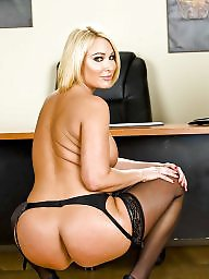 Mellanie monroe, Office, Milf ass, Curves