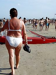 Mature beach, Granny, Granny beach, Grannies, Granny boobs