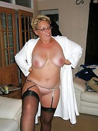 Mature, Milf, Big, Lady