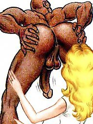Interracial cartoons, Interracial cartoon, Cartoons, Cartoon
