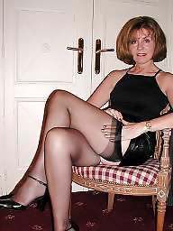 Mature stockings, Stocking milf, Mature stocking