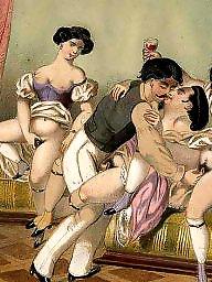 X erotic, X-art, Vintage cartoon, Vintage art, Vintage-art, S&m art