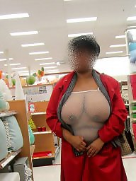 Movies, Shopping, Ebony public, Black boobs, Black, Public