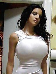 brunette milf tits Hot big