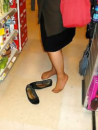 Pantyhose, Feet, Mature pantyhose, Mature feet
