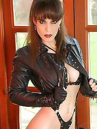 Mature leather, Mature pvc, Mistress, Mistress t, Pvc, Leather milf