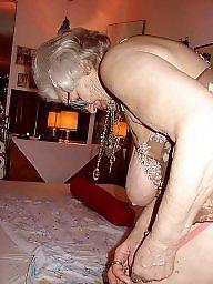 Granny boobs, Granny stockings, Granny