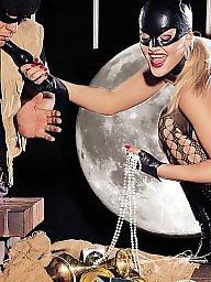 Milf femdom, Amateur femdom, Mask, Masked, Catwoman, Femdom