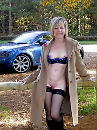 Mature stockings, British