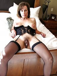 Creampie for amateur milf
