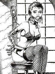 Bdsm cartoons, Bdsm cartoon, Bondage