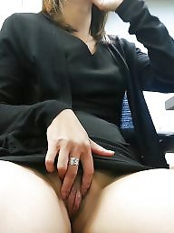 Office, Work, At work, Asian ass