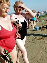 Grannies, Granny, Granny amateur, Granny beach, Granny boobs