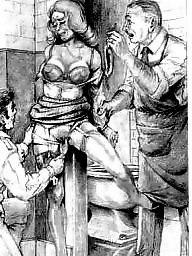 Femdom cartoon, Bdsm cartoons, Femdom, Art, Bdsm cartoon, Drawings