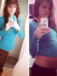 Pregnant amateur, Pregnant milf, Before and after, Big belly, Before after, Pregnant boobs