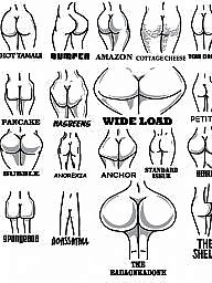 Valentines day, Valentine day, Valentin, Shaping, Shapes, Shapely ass
