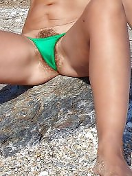 Hairy beach, Camel toe, Greek