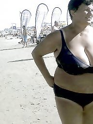 Granny boobs, Mature beach, Granny beach, Granny