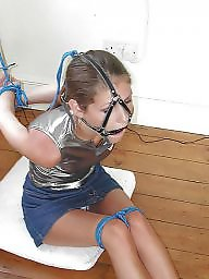 Young, Lady, Bound, Young amateur