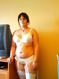 V white, White stockings, White stocking amateurs, White stocking, White lace, White bbws