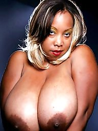 Big natural, Ebony milf, Natural