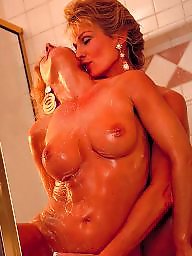 X boobs shower, The hot big, The milf big, The milf boobs, Showering lesbians, Showering milf