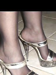 Heels, Pantyhose