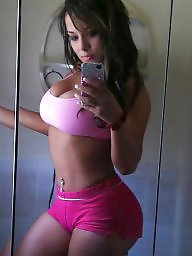 Mostly, Latin woman, Latin brunette, Brunette woman, Amazing boobs, Most