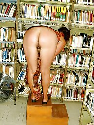 Public library, Public amateur flash, Perfect, amateur, Library flashing, J-place, Flash places