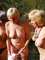 Mature outdoor, Granny sex, Mature group, Granny fuck, Mature fuck, Grannys
