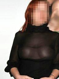 Redhead, Dress, Redhead milf, Dressed